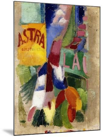 Study of the Team from Cardiff, 1907-13-Robert Delaunay-Mounted Giclee Print