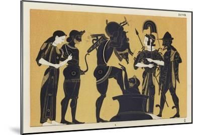 Erymanthian Boar--Mounted Giclee Print