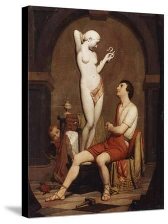 Pygmalion, 1851--Stretched Canvas Print