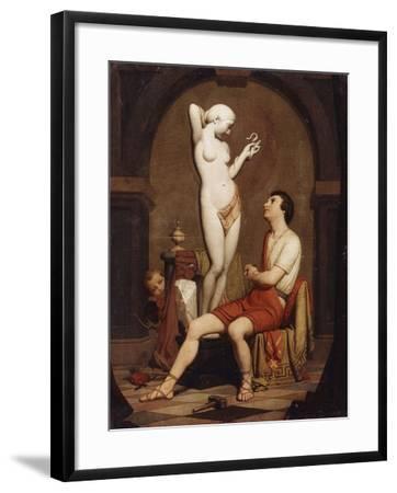 Pygmalion, 1851--Framed Giclee Print
