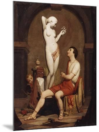 Pygmalion, 1851--Mounted Giclee Print
