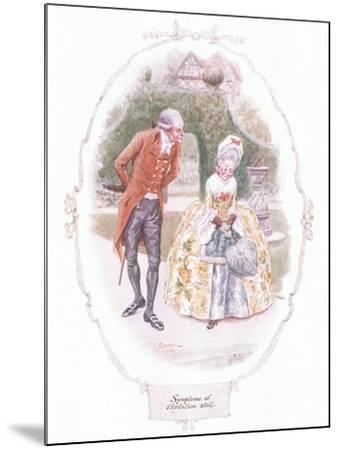 Symptoms of Flirtation Still-Charles Edmund Brock-Mounted Giclee Print