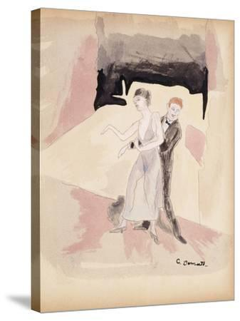 Dancers-Charles Demuth-Stretched Canvas Print