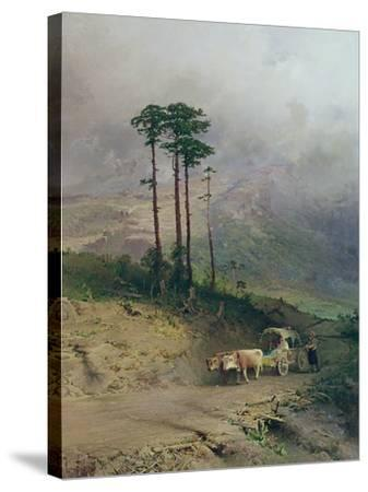 In the Crimean Mountains, 1873-Fedor Aleksandrovich Vasiliev-Stretched Canvas Print