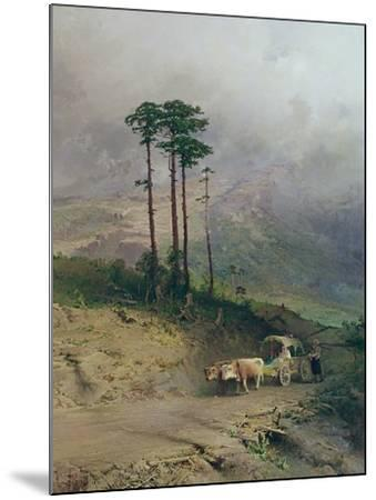 In the Crimean Mountains, 1873-Fedor Aleksandrovich Vasiliev-Mounted Giclee Print