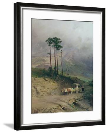 In the Crimean Mountains, 1873-Fedor Aleksandrovich Vasiliev-Framed Giclee Print
