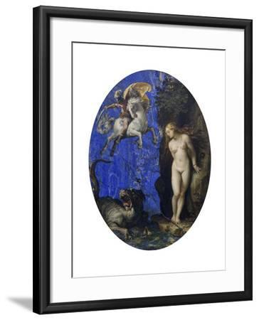 Perseus and Andromeda-Guiseppe Cesari-Framed Giclee Print