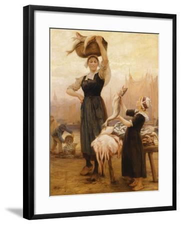 Back to Fishing-Theophile Louis Deyrolle-Framed Giclee Print