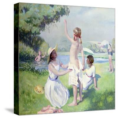 Summer-Dennis William Dring-Stretched Canvas Print