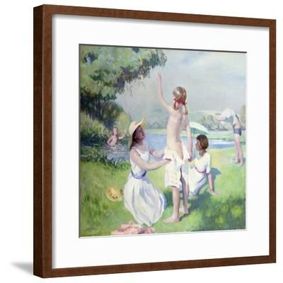 Summer-Dennis William Dring-Framed Giclee Print