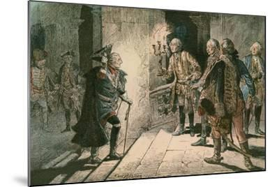 Frederick the Great-Carl Rohling-Mounted Giclee Print