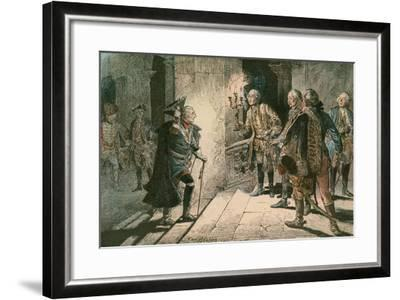 Frederick the Great-Carl Rohling-Framed Giclee Print