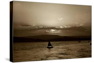 Sunset, Exmouth, 1911--Stretched Canvas Print