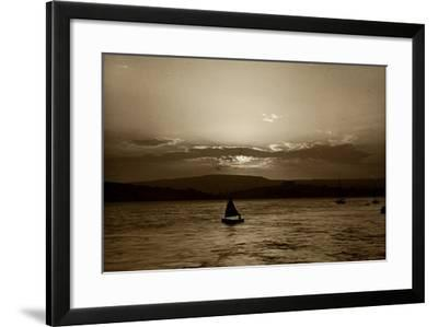 Sunset, Exmouth, 1911--Framed Photographic Print
