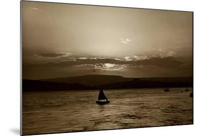 Sunset, Exmouth, 1911--Mounted Photographic Print