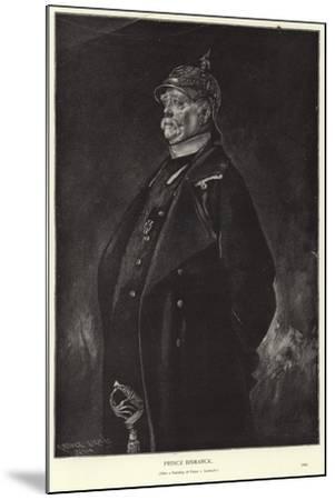 Otto Von Bismarck-Franz Seraph von Lenbach-Mounted Giclee Print
