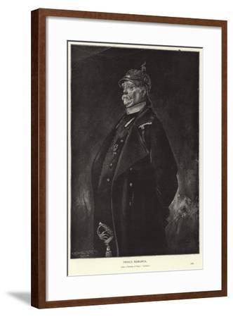 Otto Von Bismarck-Franz Seraph von Lenbach-Framed Giclee Print