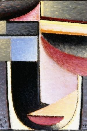 Abstract Head: the Chalice Passed Me, 1929-Alexej Von Jawlensky-Stretched Canvas Print