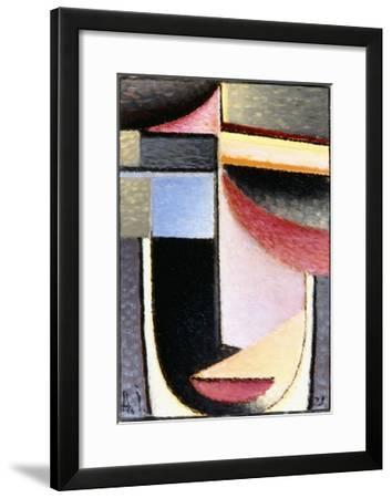 Abstract Head: the Chalice Passed Me, 1929-Alexej Von Jawlensky-Framed Giclee Print