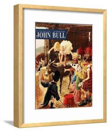 Front Cover of 'John Bull', January 1954--Framed Giclee Print