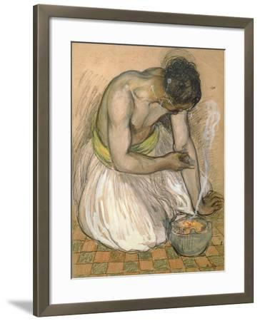 The Moroccan Fakir-Andre Sureda-Framed Giclee Print