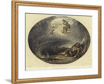 The Soldier's Dream-Edward Angelo Goodall-Framed Giclee Print