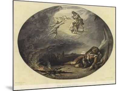 The Soldier's Dream-Edward Angelo Goodall-Mounted Giclee Print
