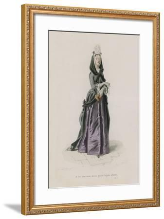 Les Femmes, Satire X-Emile Antoine Bayard-Framed Giclee Print