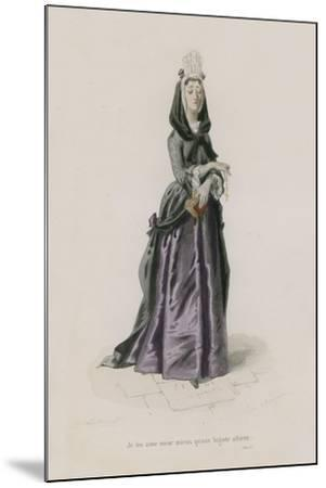 Les Femmes, Satire X-Emile Antoine Bayard-Mounted Giclee Print