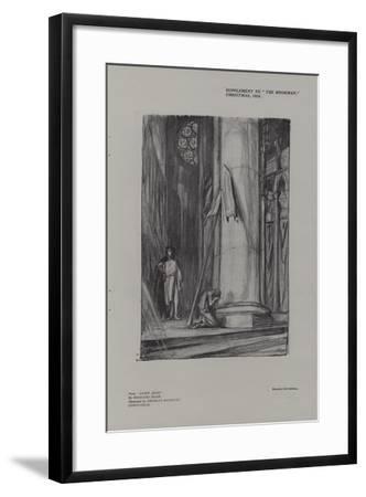 Scene in Rheims Cathedral from Saint Joan-Charles Ricketts-Framed Giclee Print