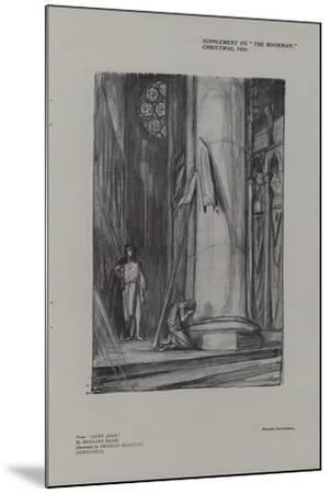 Scene in Rheims Cathedral from Saint Joan-Charles Ricketts-Mounted Giclee Print