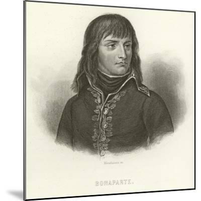 Napoleon Bonaparte--Mounted Giclee Print