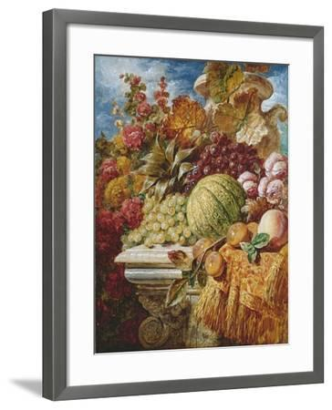 Still Life with Fruit-George Lance-Framed Giclee Print