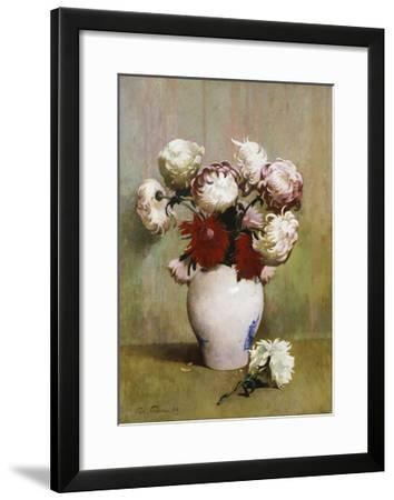 Chrysanthemums, 1893-Emil Carlsen-Framed Giclee Print