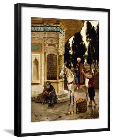Outside the Palace-Rudolphe Ernst-Framed Giclee Print