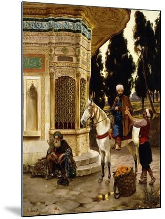 Outside the Palace-Rudolphe Ernst-Mounted Giclee Print
