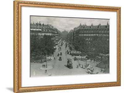 L'Avenue De L'Opera, Avenue of the Opera--Framed Photographic Print