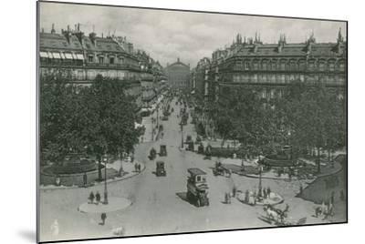 L'Avenue De L'Opera, Avenue of the Opera--Mounted Photographic Print