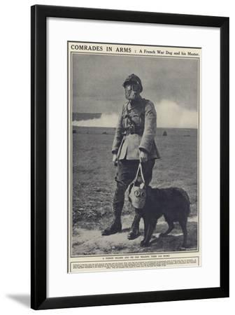 Comrades in Arms--Framed Photographic Print