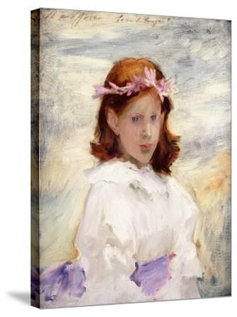 Portrait of Teresa Gosse, 1885-John Singer Sargent-Stretched Canvas Print
