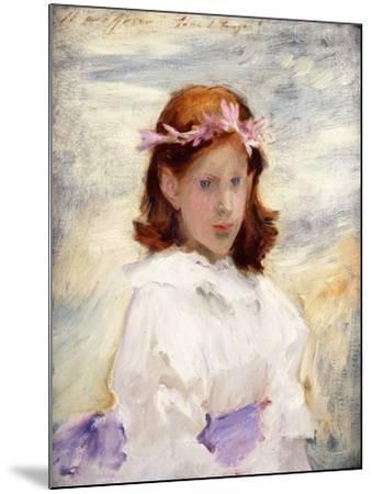Portrait of Teresa Gosse, 1885-John Singer Sargent-Mounted Giclee Print
