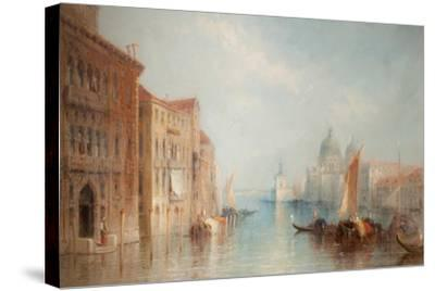 The Grand Canal, Venice-Jane Vivian-Stretched Canvas Print