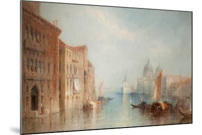 The Grand Canal, Venice-Jane Vivian-Mounted Giclee Print