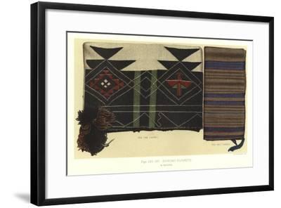 Shinumo Blankets--Framed Giclee Print