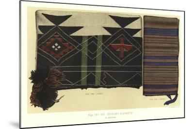 Shinumo Blankets--Mounted Giclee Print