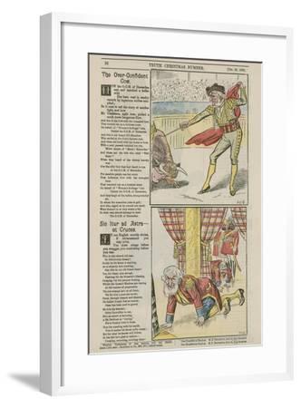 Political Cartoons--Framed Giclee Print