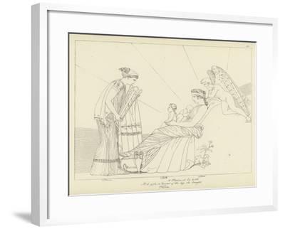 The Furies-John Flaxman-Framed Giclee Print