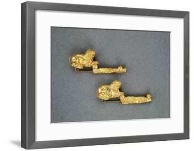 Gold Arc--Framed Giclee Print