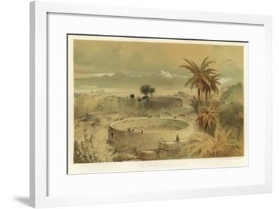 Parsee Towers of Silence--Framed Giclee Print