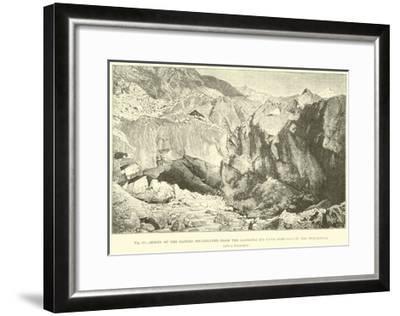 Origin of the Ganges--Framed Giclee Print